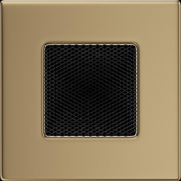 Камінна решітка Решітка золото гальванічне 11x11 Kratki
