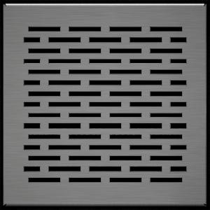 Решітка FLOOR шліфована 17x17