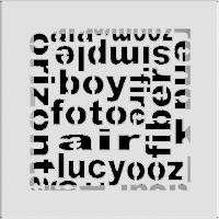 Решетка ABC белая 17x17