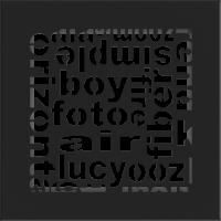 Решетка ABC черная 17x17