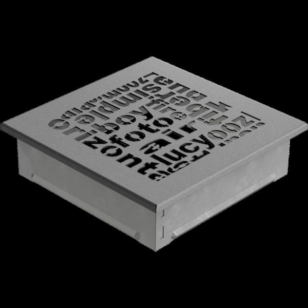Решітка ABC гранітна 17x17