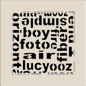 Решітка ABC кремова 17x17