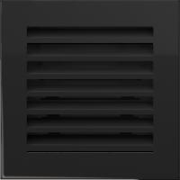Решітка FRESH чорна 17x17