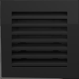 Решетка FRESH черная 17x17