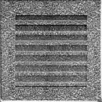 Решітка FRESH чорно-срібна 17x17