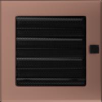 Решітка мідь гальванічна з жалюзями 17x17