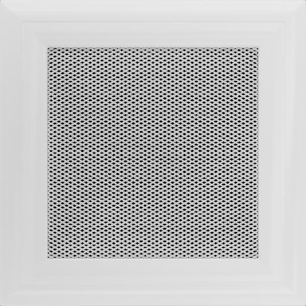 Решітка Oskar біла 17x17