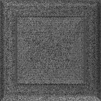 Решітка Oskar чорно-срібна 17x17