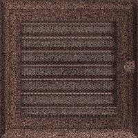 Решітка Oskar мідна фарбована з жалюзями 17x17