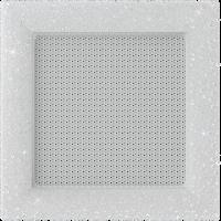 Решітка Venus з кристалами Swarovski біла 17x17