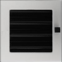 Решітка шліфована з жалюзями 17x17