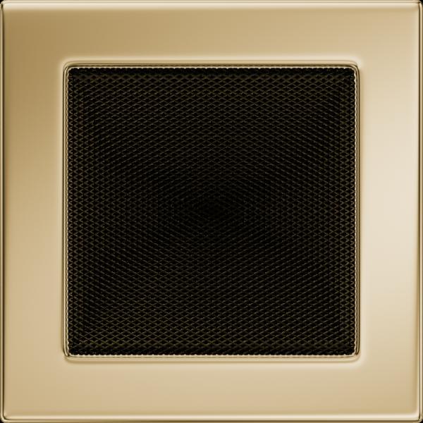 Решітка позолочена 17x17