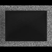 Решітка чорно-срібна 22x30