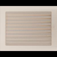 Решітка кремова з жалюзями 22x30