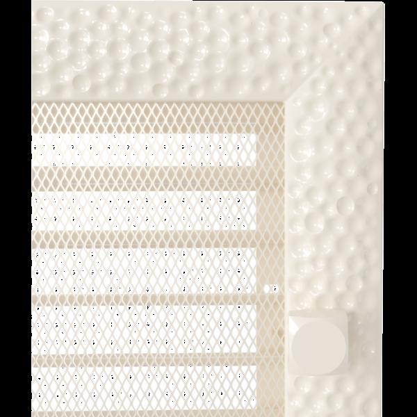 Решітка Venus кремова з жалюзями 22x45