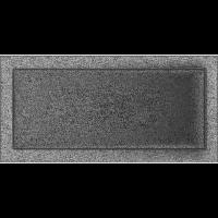 Решітка чорно-срібна 22x45