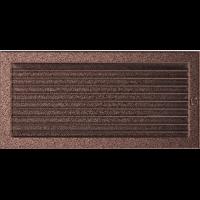 Решітка мідна з жалюзями 22x45