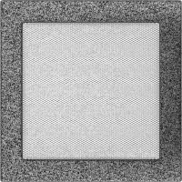 Решітка чорно-срібна 22x22