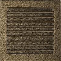Решітка чорно-золота з жалюзями 22x22