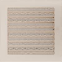 Решітка кремова з жалюзями 22x22