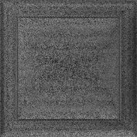 Решітка Oskar чорно-срібна 22x22