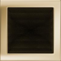 Решітка позолочена 22x22