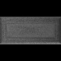 Решітка Oskar чорно-срібна 11x24