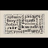 Решетка ABC кремовая 17x30