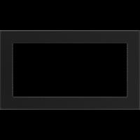 Решітка чорна 17x30