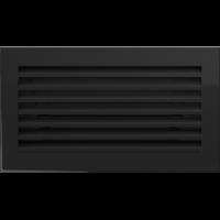 Решітка FRESH чорна 17x30