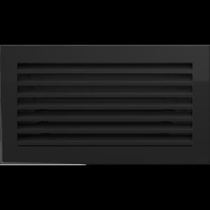 Решетка FRESH черная 17x30
