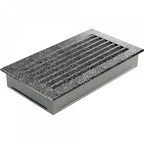 Решітка FRESH чорно-срібна 17x30