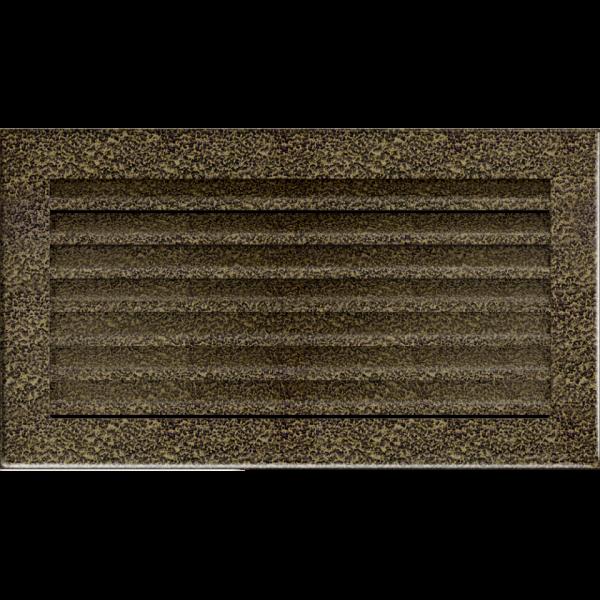 Решітка FRESH чорно-золота 17x30