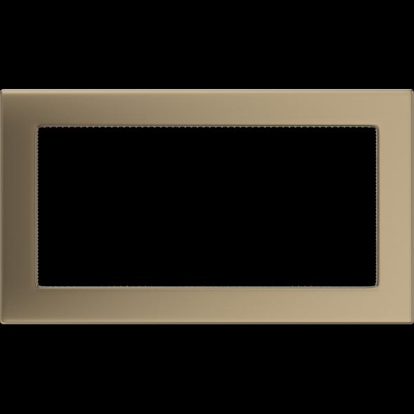 Камінна решітка Решітка золото гальванічне 17x30 Kratki