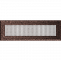 Решітка Oskar мідна фарбована 11x32