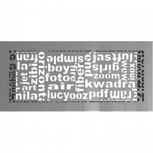 Решітка ABC шліфована 17x37