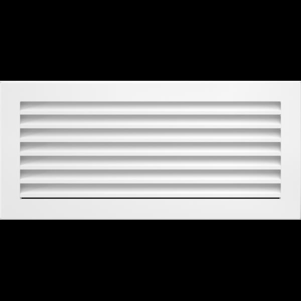 Решітка FRESH біла 17x37