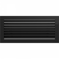 Решітка FRESH чорна 17x37
