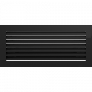 Решетка FRESH черная 17x37