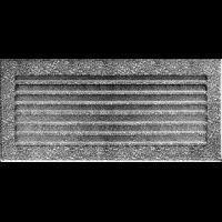 Решітка FRESH чорно-срібна 17x37