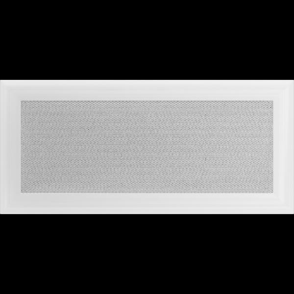 Решітка Oskar біла 17x37