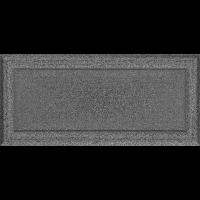 Решітка Oskar чорно-срібна 17x37
