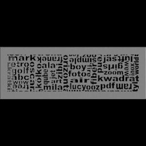 Решітка ABC гранітна 17x49