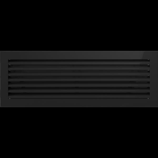 Решітка FRESH чорна 17x49