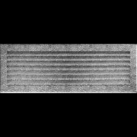 Решітка FRESH чорно-срібна 17x49
