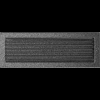 Решітка чорно-срібна з жалюзями 17x49