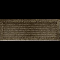 Решітка FRESH чорно-золота 17x49