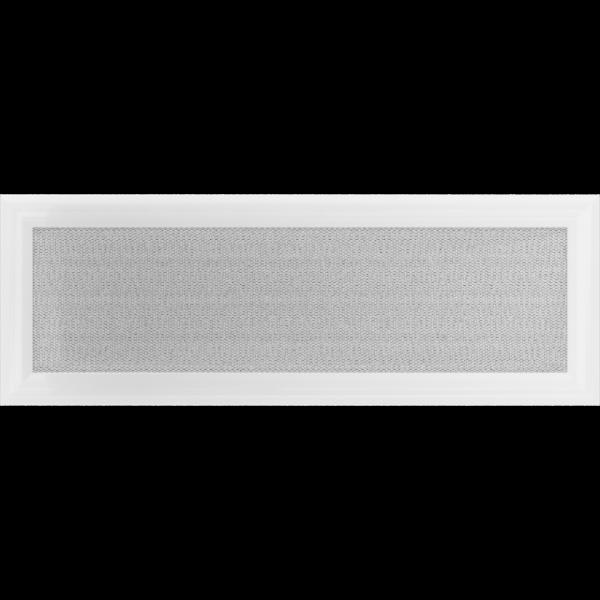 Решітка Oskar біла 17x49