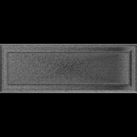 Решітка Oskar чорно-срібна 17x49