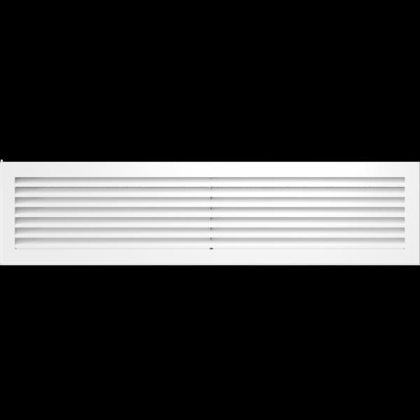 Решітка FRESH біла 17x70